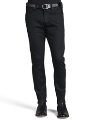 Ralph Lauren Black Label Straight Fit Denim Jeans Black