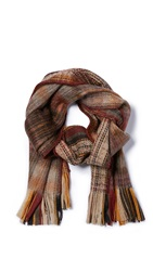 Our Legacy Brushed Scarf Red Plaid