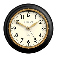 Newgate The Cookhouse Ii Wall Clock Matt Black