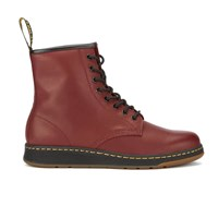 Dr. Martens Men's Lite Newton 8 Eye Boots Cherry Red Burgundy
