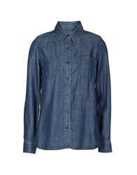 Etienne Marcel Denim Shirts Blue