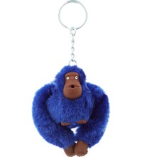 Kipling Fluffy Monkey Keyring 5Cm Ink