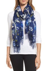 Nordstrom Women's Cambridge Print Wool And Cashmere Scarf