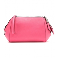 Marc Jacobs Doctor Leather Clutch Peony With Nickel