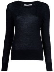 Jason Wu Lace Insert Jumper Black