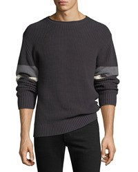 Ag Adriano Goldschmied Jett Crewneck Sweater Black