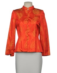 Valeria Suits And Jackets Blazers Women Coral