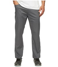 Travis Mathew Jet Pants Castlerock Men's Casual Pants Gray