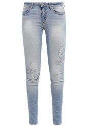 Cheap Monday Slim Fit Jeans Brilliant Blue Light Blue