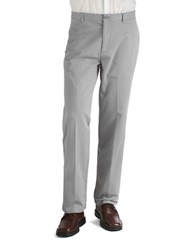 Calvin Klein Twill Straight Fit Pants Glacial Tint