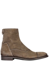 Alberto Fasciani Raw Leather Boots Grey