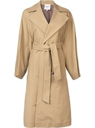 Sea Kamille Trench Coat Brown