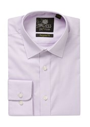 Skopes Men's 24 7 Mode Collection Formal Shirt Lilac