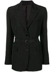 Christian Wijnants Jena Belted Blazer Black