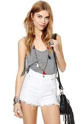 Nasty Gal After Party Vintage Rowdy Cutoff Shorts