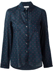 Etoile Isabel Marant Madison Shirt Women Cotton 42 Blue