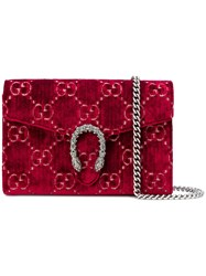 Gucci Dionysus Chain Wallet Red
