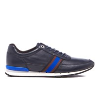 Paul Smith Ps By Men's Swanson Runner Trainers Galaxy Mono Blue