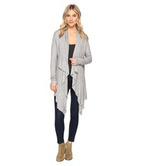 Culture Phit Mariam Cardigan Sweater Heather Grey Women's Sweater Gray