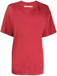 Raquel Allegra Short Sleeve Boxy Fit T Shirt 60
