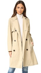Madewell Trench Coat Dark Rope