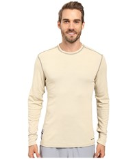 Hot Chillys Flame Resistant Crew Neck Tan Men's Clothing