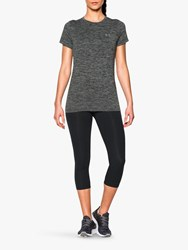 Under Armour Tech Twist Short Sleeve Training Top Grey