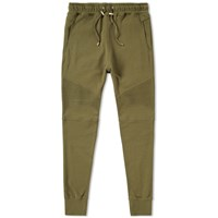 Balmain Biker Sweat Pant Green