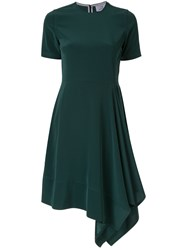 Ck Calvin Klein Asymmetric Hem Dress 60