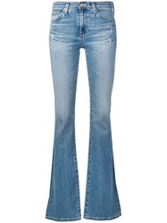 Ag Jeans Angel Flared Blue