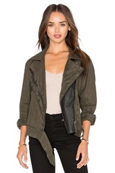 Blank Nyc Moto Jacket Army