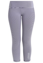 Lorna Jane Courage Tights Ink White Blue