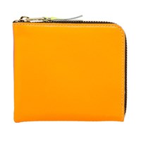 Comme Des Garcons Sa3100sf New Super Fluro Wallet Orange