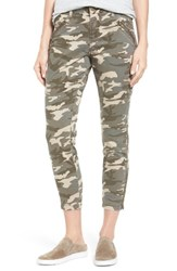 Jag Jeans Women's Ryan Camo Skinny Pants Olive Camo