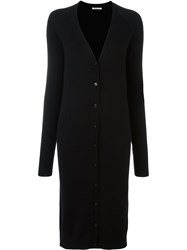 Alexander Wang T By Oversized Cardigan Black