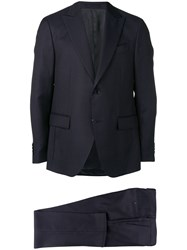 Dell'oglio Two Piece Suit Set Blue