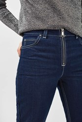 Topshop Zip Front Jeans By Boutique Indigo Denim