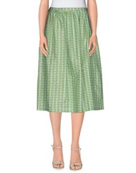 Laura Urbinati Skirts 3 4 Length Skirts Women Light Green