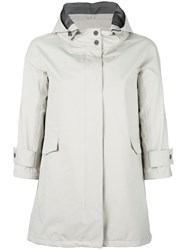 Herno Hooded Parka Nude Neutrals
