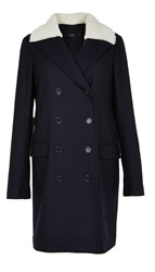 Tibi Esquire Double Breasted Car Coat