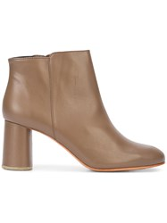 Rachel Comey Lin Ankle Boots Brown