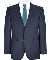 Austin Reed Navy Double Tone Cut Suit Jacket