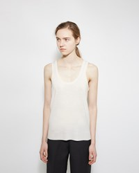 Organic By John Patrick Merino Sweater Tank Natural