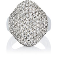 Roberto Marroni Women's Pave Ring No Color