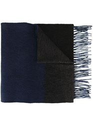 Norse Projects X Begg And Co Striped Scarf Blue