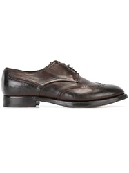 Silvano Sassetti Classic Derby Shoes Brown