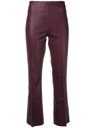 By Malene Birger 'Phase' Trousers Pink Purple