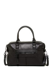L.A.M.B. Haloma Leather Satchel Black