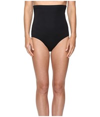 Magicsuit Solids High Waisted Brief Black Women's Swimwear