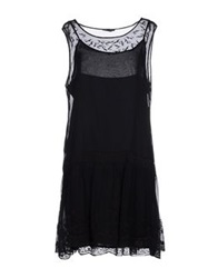 Ter De Caractere Short Dresses Black
